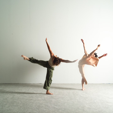 awareness of and relationship to other dancers in performance